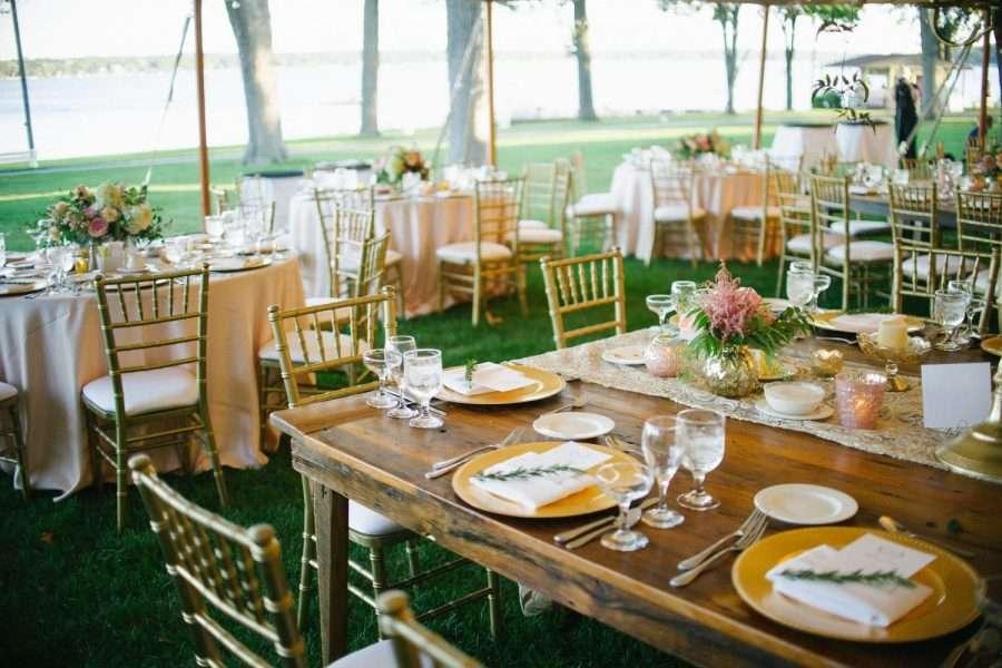 Elegant Lakeside weddings at Lake Lawn Resort