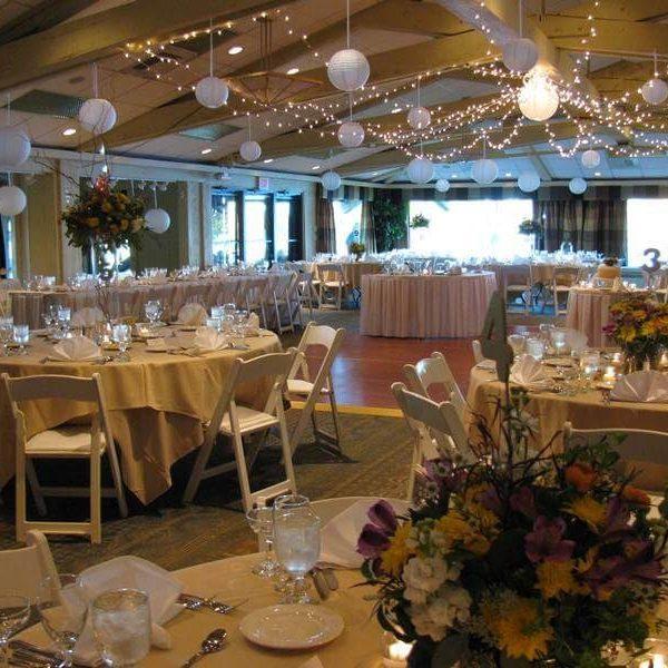 Wedding reception at Lake Lawn Resort