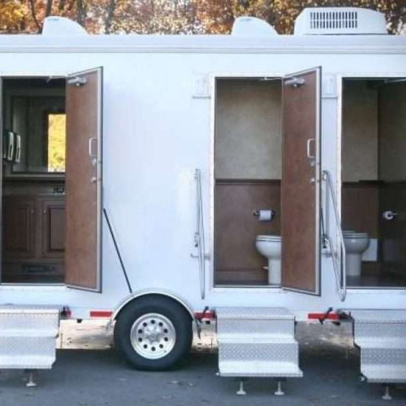 Upscale Portable restrooms by Arnold's Environmental Services Inc.
