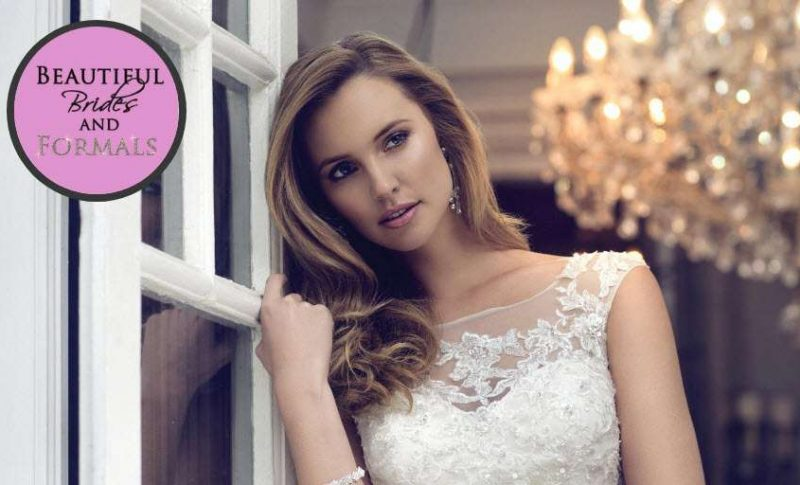 logo and image for Beautiful Brides and Formals Bridal Salong