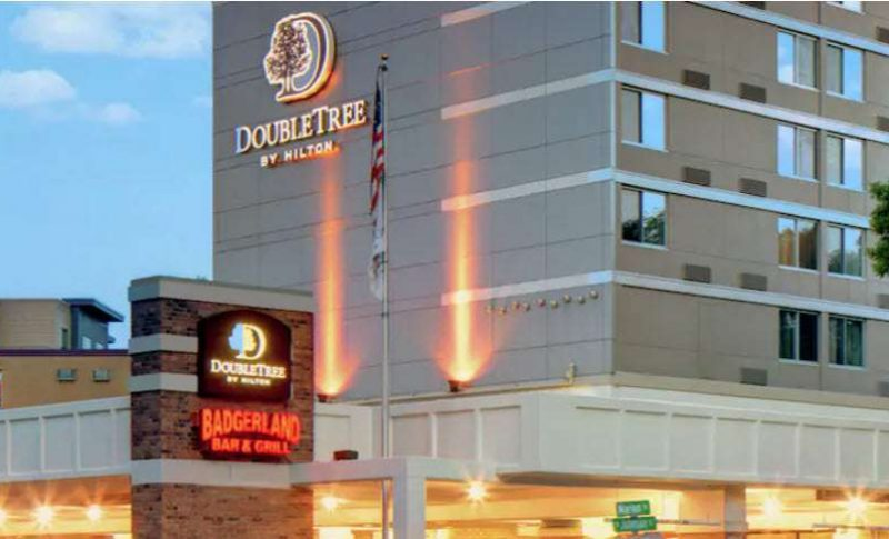 outside image at Doubletree by Hilton Madison