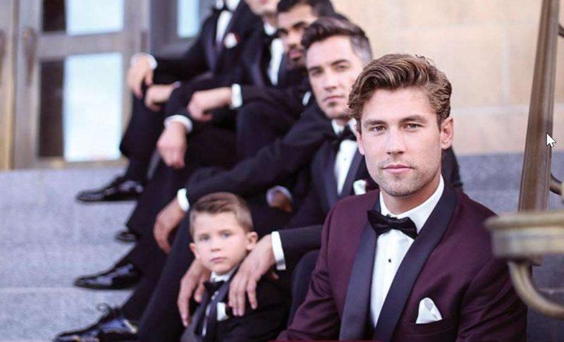 Nedrebos Wedding Mens Formal Wear