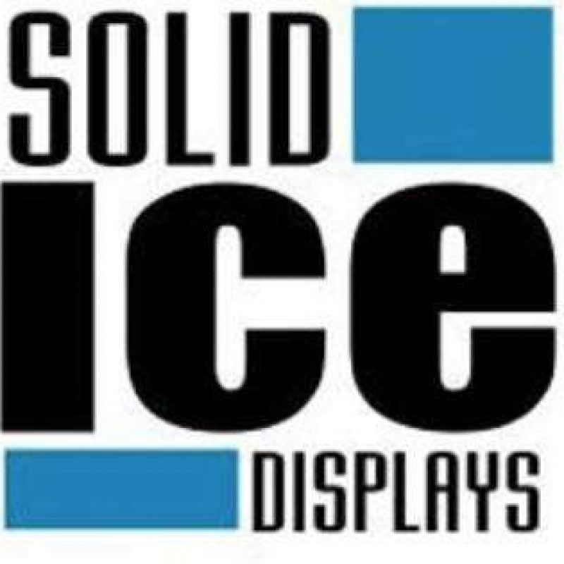Solid Ice Displays