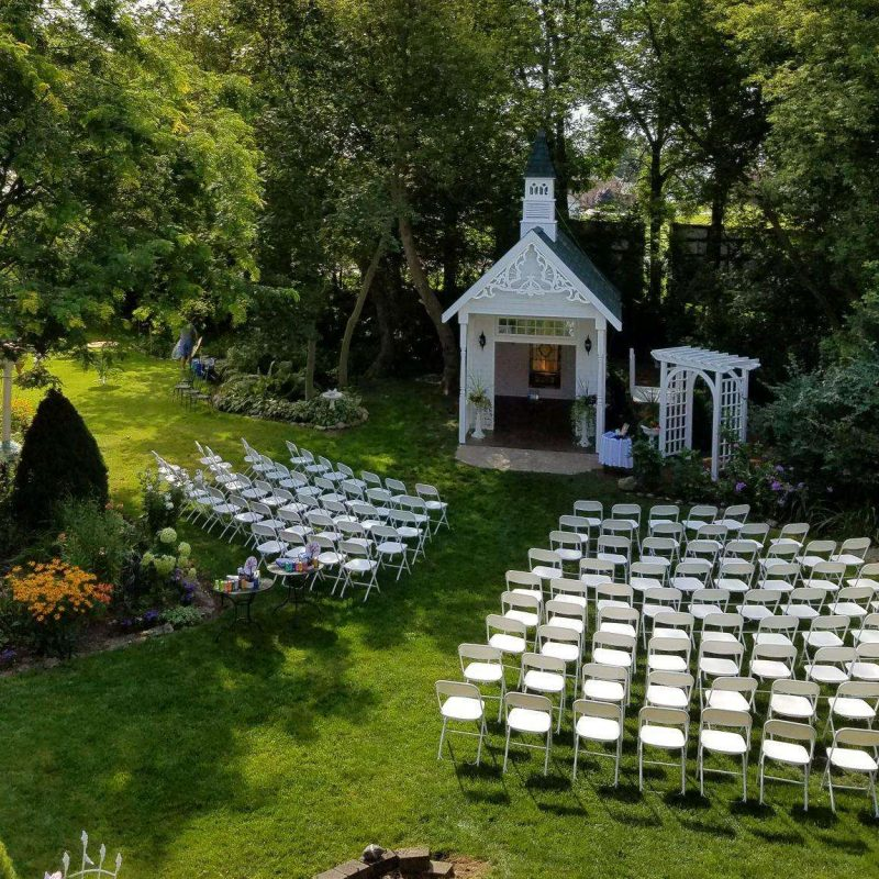 Wedding ceremony site in Kewaunee WI